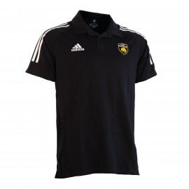 Polo Adidas Noir 3 Bandes